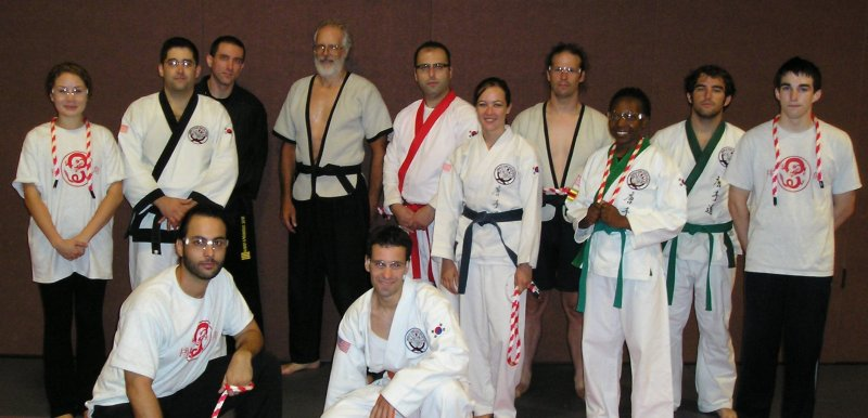 Tan-tui and BTSD Ropes Seminar Group