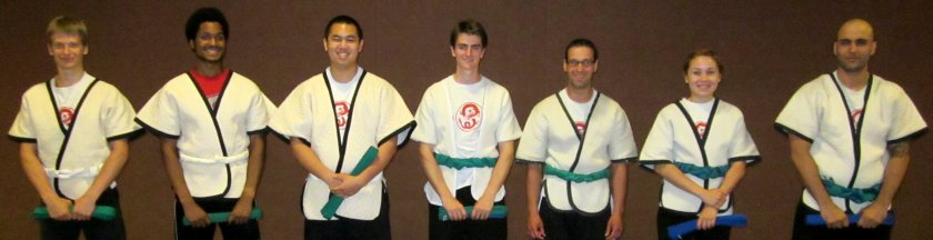 May 2012 Belt Test