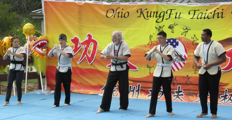 Ohio Kung Fu day demo
